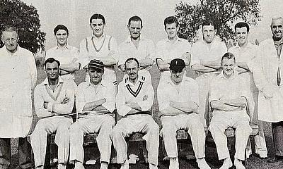 Appleby Frodingham - First XI - seated first on left.