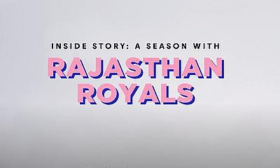 Behind the scenes Documentary follows Rajasthan Royals