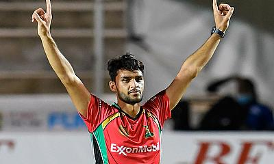 Naveen-ul-Haq bowled a terrific spell