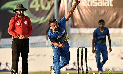 Sayed Shirzad bowled a terrific spell