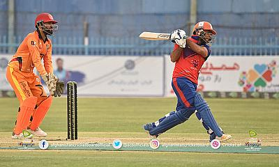 Bahar Shinwari played a quickfire knock