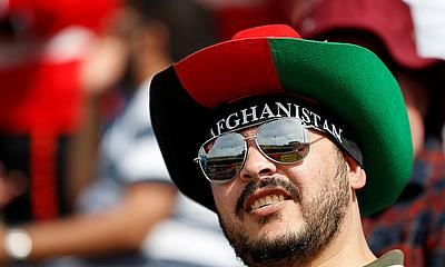 Afghanistan cricket fan