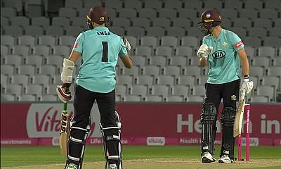 Surrey batsmen -  Amla and Jacks put on a 101-run opening partnership