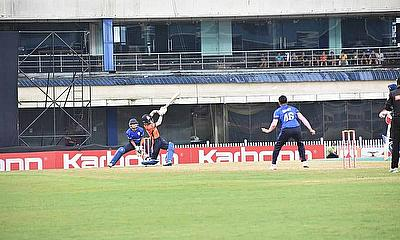 Action from Jharkhand T20 League 2020