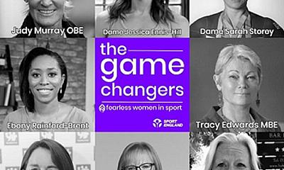 Sport England support new podcast series The Game Changers