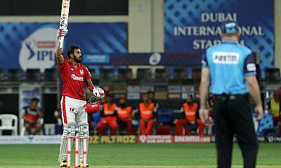 Lokesh Rahul scored a terrific hundred
