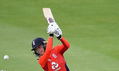 England's Amy Jones (55)