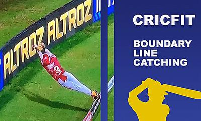 Emulate Nicholas Pooran | Boundary Line Catching Drills