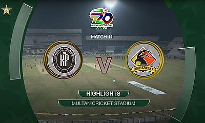 KP vs Sindh Full Match Highlights | Match 11 | National T20 Cup 2020