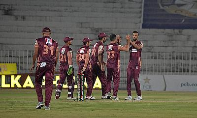 National T20 Cup 2020 - Southern Punjab celebrate a wicket