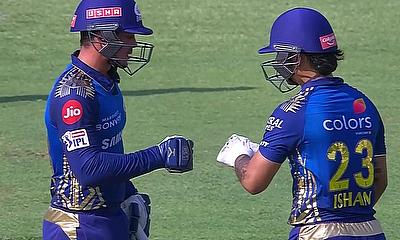 De Kock and Kishan (Mumbai Indians)