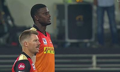 Warner and Holder - Sunrisers Hyderabad