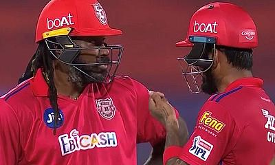 Gayle and Rahul - KXIP