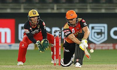 Jonny Bairstow of Sunrisers Hyderabad batting