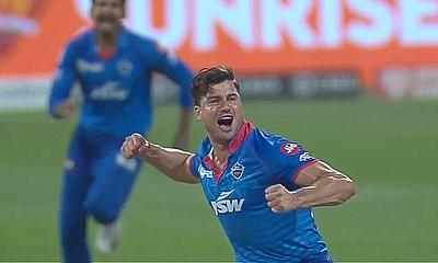 Marcus Stoinis bowled a terrific spell