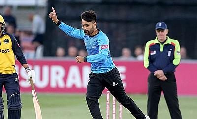 Rashid Khan Joins Sussex Sharks' for Vitality Blast 2021