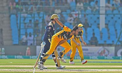 Action from the Pakistan Super League 2020