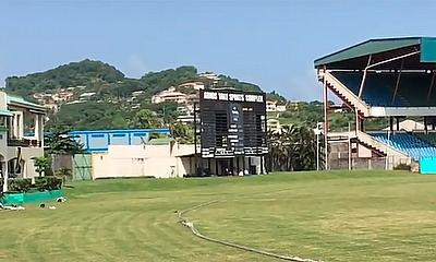 Arnos Vale cricket ground in St Vincent