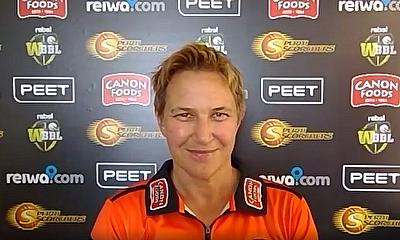 Shelley Nitschke speaks of Amy Jones joining Perth Scorchers