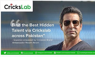 Wasim Akram Joins Crickslab As Director And Brand Ambassador