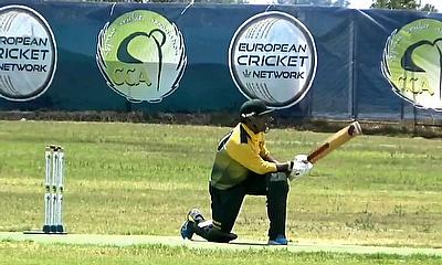 Action from the recent ECS Cyprus T10 tournament