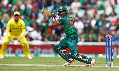 Imrul Kayes in action for Bangladesh