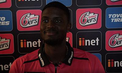 Jason Holder talks about joining the Sydney Sixers