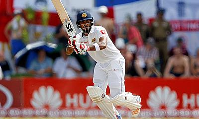 Dinesh Chandimal top scoring with 85 for Sri Lanka today