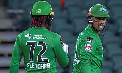 Marcus Stoinis and Andre Fletcher Melbourne Stars