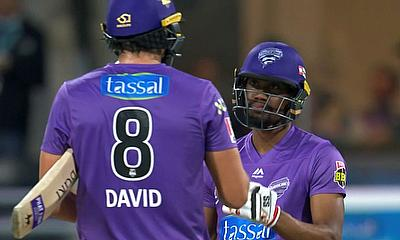 Tim David and Keemo Paul (Hobart Hurricanes)