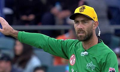 Glenn Maxwell points the way for the Stars