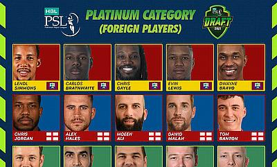 Star studded line-up feature in HBL PSL 2021 Platinum roster