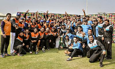 Central Punjab and Khyber Pakhtunkhwa share the first-class Quaid-e-Azam Trophy 2020-21 after the match ends in a dramatic tie - PCB