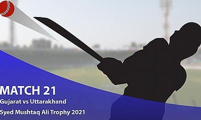 Cricket Betting Tips and Fantasy Cricket Match Predictions: Syed Mushtaq Ali Trophy 2021 - Gujarat vs Uttarakhand, Elite C