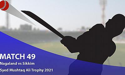 Cricket Betting Tips and Fantasy Cricket Match Predictions: Syed Mushtaq Ali Trophy 2021 - Nagaland vs Sikkim, Plate