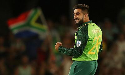 South Africa's Tabraiz Shamsi