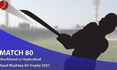 Syed Mushtaq Ali Trophy 2021 - Jharkhand vs Hyderabad, Elite B