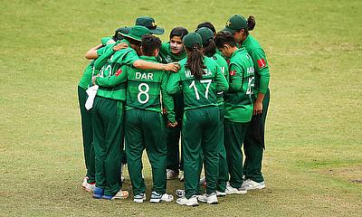 Pakistan women fielding