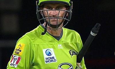 Alex Hales 110 for Sydney Thunder today