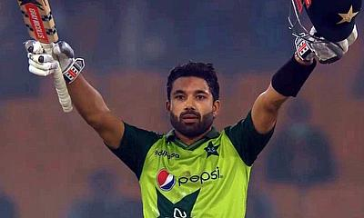 Rizwan scored a brilliant hundred for Pakistan