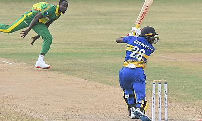Justin Greaves 76 - top scored for Barbados Pride
