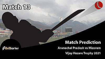 Fantasy Cricket Tips and Predictions: Arunachal Pradesh vs Mizoram, Round 1, Plate