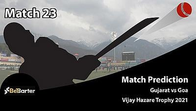 Vijay Hazare Trophy 2021 - Gujarat vs Goa, Round 2, Elite Group A