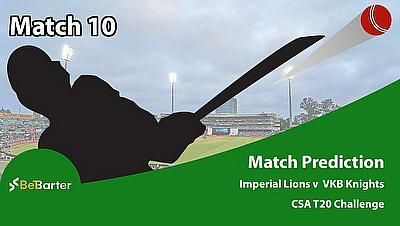 CSA T20 Challenge 2021- Imperial Lions vs VKB Knights- Match 10