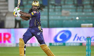 Chris Gayle scored 68 for Quetta Gladiators against Lahore Qalandars on Monday- PCB