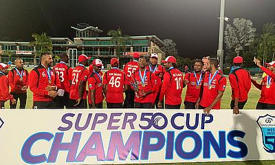 CG Insurance Super50 Cup CG Insurance Super50 Cup Champions 2021