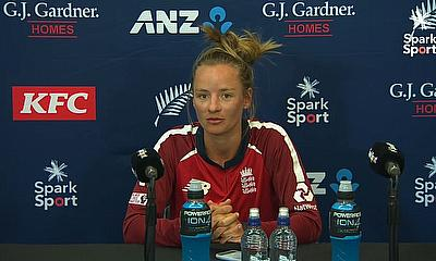 Danni Wyatt speaks after England Women's win over New Zealand