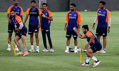 Indian players practice session ahead of their first Twenty20
