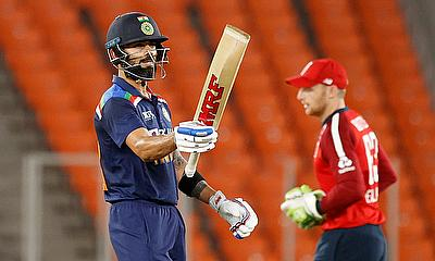 Kohli, Buttler advance in MRF Tyres ICC Men's T20I Player Rankings