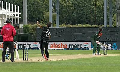 Trent Boult in action for New Zealand